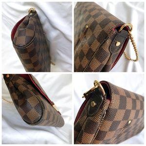 Louis Vuitton Bags - Louis Vuitton Favorite MM Damier Ebene Bag N41129